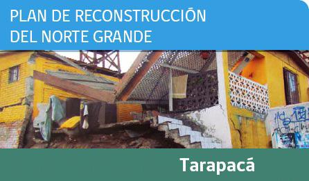 Plan de reconstrucción iquique