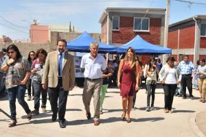 Familias de Santa Eloísa reciben las llaves de sus viviendas reconstruidas